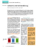 Artikel Achtsame Unternehmensführung